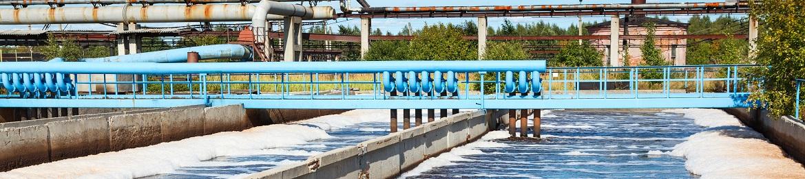 Estação de tratamento de efluentes para que se evite despejo do esgoto no mar
